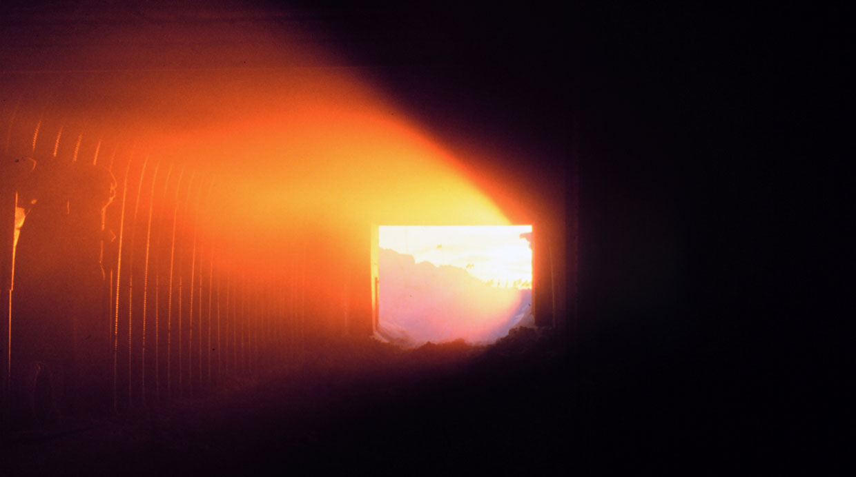 [Foto] ¿Te imaginas poder tomar sol dentro de un túnel en Aragón?
