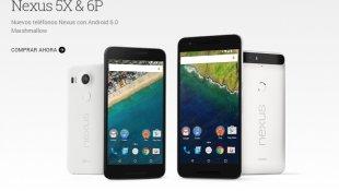 Nexus 5X y el Nexus 6P, los nuevos teléfonos de Google [VIDEO]