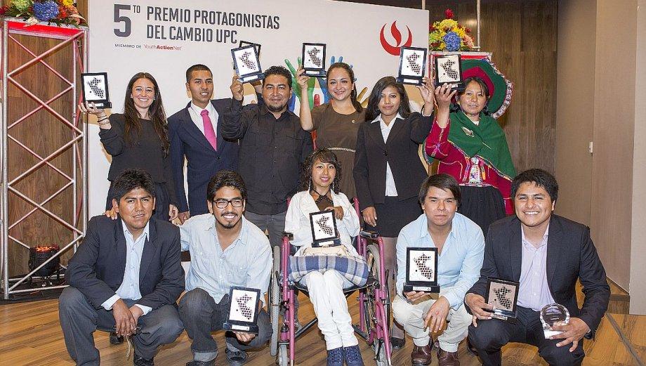 Conoce a los 10 ganadores del premio Protagonistas del Cambio
