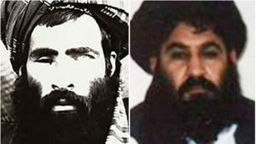 El Mulá Omar (izq.), cuya muerte fue confirmada en el 2015, fue reemplazado por el Mulá Akhtar Mansur. (Foto: EPA)