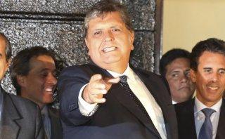 Alan García insiste con propuestas sobre seguridad ciudadana
