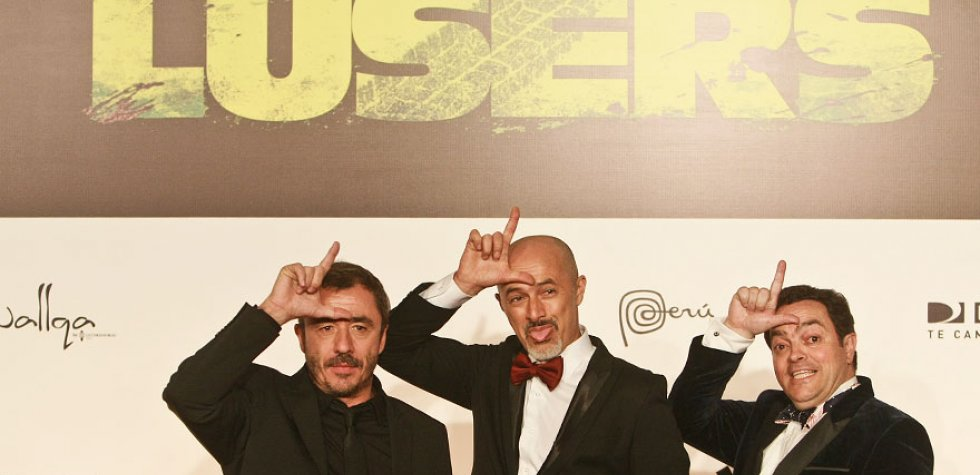 """Los looks de los famosos en premiere de """"Lusers"""""""