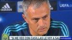 """Mourinho sobre Iker Casillas: """"Obviamente lo voy a saludar"""" - Noticias de iker casillas"""