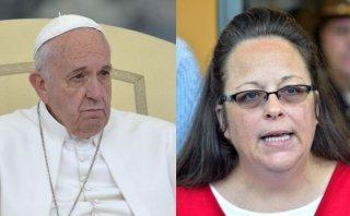 El Papa vio en secreto a la funcionaria que no quiso casar gays