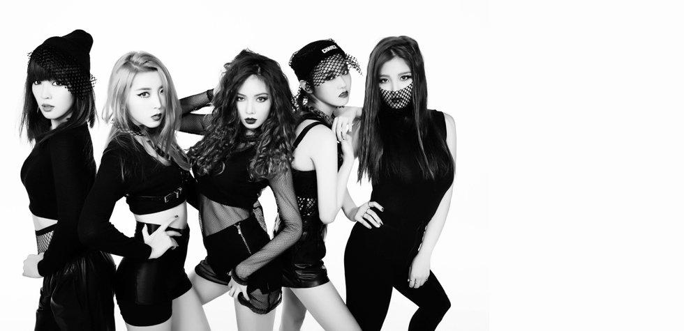 El grupo de K-Pop 4Minute llega a Lima
