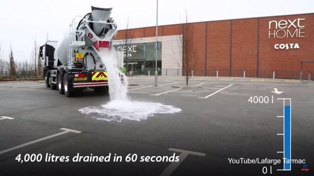 Llegó el momento de decir adiós a las carreteras inundadas. Han creado un asfalto capáz de absorver 4000 litros en 60 segundos...Un gran invento que podría cambiar la infancia de nuevas generaciones... Los niños/as ya no podrán pisar charcos...;) pero se evitarán grandes atascos y accidentes...