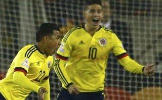 Colombia celebra óptima recuperación de James y Murillo