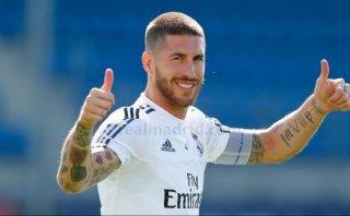 Sergio Ramos y Gareth Bale entrenaron a tres días del derbi