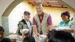 Christina Aguilera realizó visita solidaria al Ecuador - Noticias de trabajo comunitario