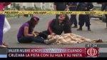 Taxista arrolló a mujer que llegó a Lima a celebrar cumpleaños - Noticias de accidente de transito