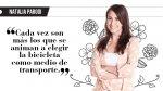 """Natalia Parodi: """"La reconquista de la bicicleta"""" - Noticias de natalia parodi"""