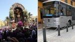 Señor de los Milagros: desvíos en Metropolitano y corredor azul - Noticias de senor de los milagros