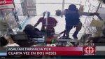 Por cuarta vez en dos meses roban cadena de farmacias en SJL - Noticias de banda de asaltantes|