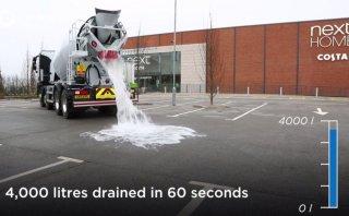YouTube: En Inglaterra crean concreto súper absorbente