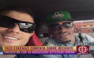 Jefferson Farfán está feliz con Yahaira Plasencia, dice Yaco
