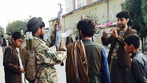 La captura de la ciudad también fue un gran golpe de propaganda para el Talibán. (Foto: Reuters)