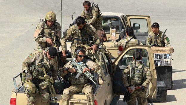 Las tropas especiales del ejército de Afganistán están ansiosas por demostrar su valía. (Foto: AFP)