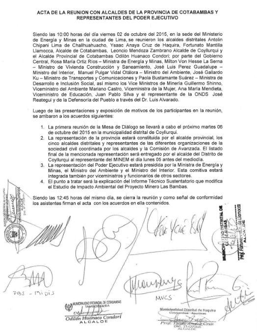 (Imagen: Ministerio de Energía y Minas)
