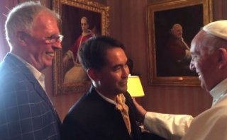 El papa Francisco se reunió con pareja gay en EE.UU. [VIDEO]
