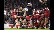 Nueva Zelanda vs. Georgia: toda la rudeza del mundial de rugby