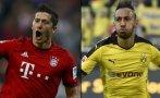 Bayern Múnich vs. Borussia Dortmund chocan por la Bundesliga