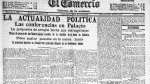 1915: 8 de octubre - Noticias de huáscar