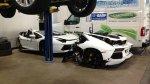 Un Lamborghini Aventador partido en dos a 125 mil dólares - Noticias de bromas