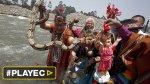 """Chamanes pidieron protección contra """"El Niño"""" [VIDEO] - Noticias de lluvias intensas"""