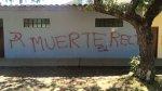 PNP investiga estas pintas en Universidad Nacional de Cajamarca - Noticias de departamento de cajamarca