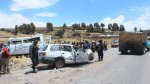 Nueve personas murieron tras accidentes en Huancavelica y Puno - Noticias de rompemuelles