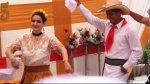 Katiuskha del Castillo participó en concurso de marinera - Noticias de marinera norteña