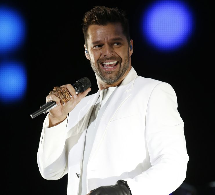 Puerto Rican singer Ricky Martin performs during the 13th Mawazine World Rhythms International Music Festival in Rabat June 6, 2014. REUTERS/Youssef Boudlal (MOROCCO - Tags: ENTERTAINMENT SOCIETY)