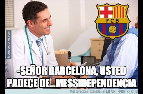 Barcelona sin Messi: mira los memes de la derrota ante Sevilla