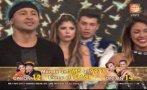 """""""El gran show"""": Marisol y Zumba fueron sentenciados [VIDEO]"""