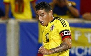 Colombia confirmó ausencia de James ante Perú por lesión