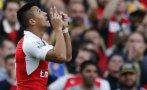 Arsenal goleó 3-0 a Manchester United con dos de Alexis Sánchez
