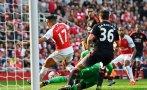 Arsenal: Alexis Sánchez anotó doblete ante Manchester United