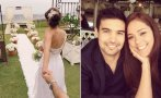 Karen Schwarz y Ezio Oliva: mira la primera foto de su boda