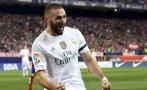 Real Madrid: Benzema marcó gol de cabeza ante Atlético Madrid