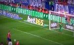 Como en el Mundial: Keylor Navas le atajó penal a Griezmann
