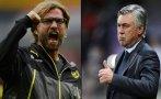 Klopp y Ancelotti son favoritos para dirigir a Liverpool