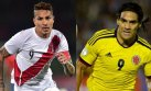 Perú vs. Colombia por Eliminatorias: día, hora y canal de TV