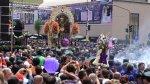 Señor de los Milagros inició su primer recorrido procesional - Noticias de cristo moreno