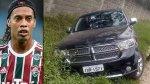 Ronaldinho tuvo accidente automovilístico en Porto Alegre - Noticias de accidente de carretera