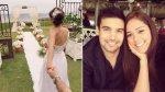 Karen Schwarz y Ezio Oliva: mira la primera foto de su boda - Noticias de agosto 2013