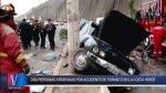 Costa Verde: provoca accidente, deja dos heridos e intenta huir - Noticias de accidente