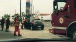 Costa Verde: llantas arriba quedó un carro tras violento choque - Noticias de accidente de tránsito