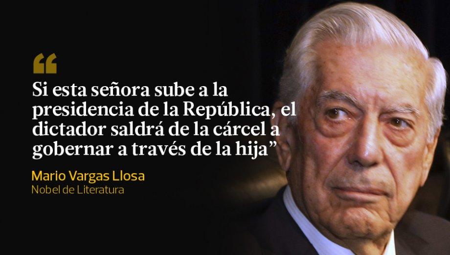 Mario Vargas Llosa y las réplicas a su apoyo a PPK