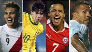 Eliminatorias: guía TV de los partidos de Sudamérica