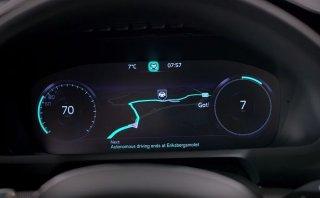 Volvo presentó nueva interfaz para sus vehículos autónomos